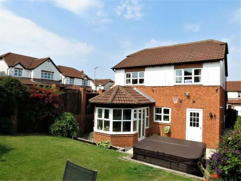 4 Bedrooms Detached House for sale in Arundel Walk, Wingate, County Durham, TS28 5LJ