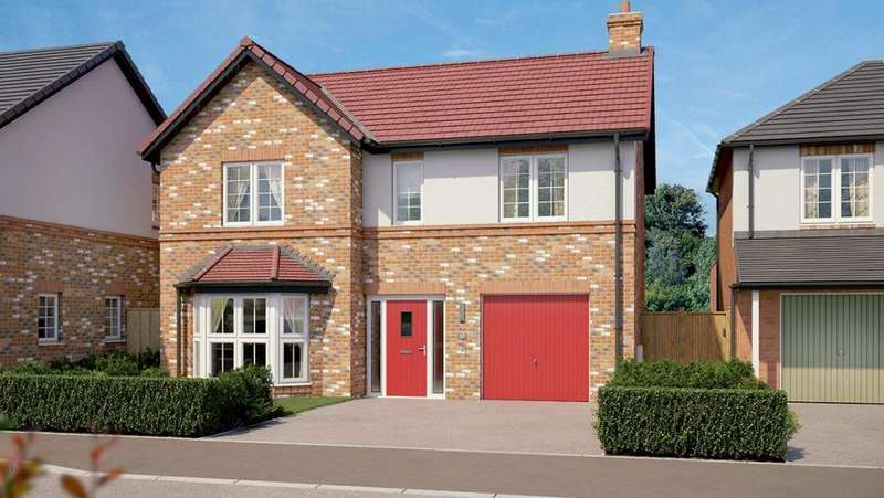 4 Bedrooms Detached House for sale in Waterfall Gardens, Guisborough, TS14