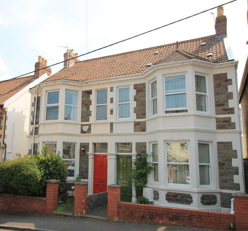 3 Bedrooms Semi Detached House for sale in Church Path Road, Pill, North Somerset,