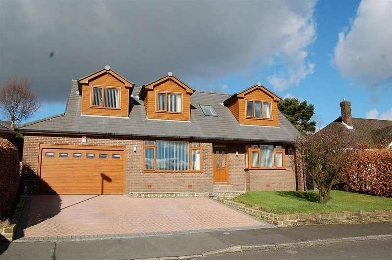 5 Bedrooms Detached House for sale in Burnedge Fold Road, Grasscroft, Oldham, OL4 4EE