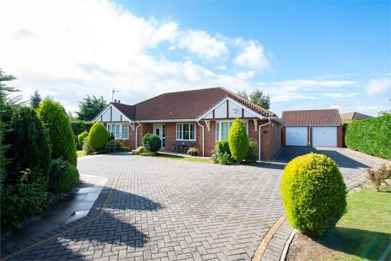 3 Bedrooms Detached Bungalow for sale in Rothschild Close, Boston, Lincolnshire