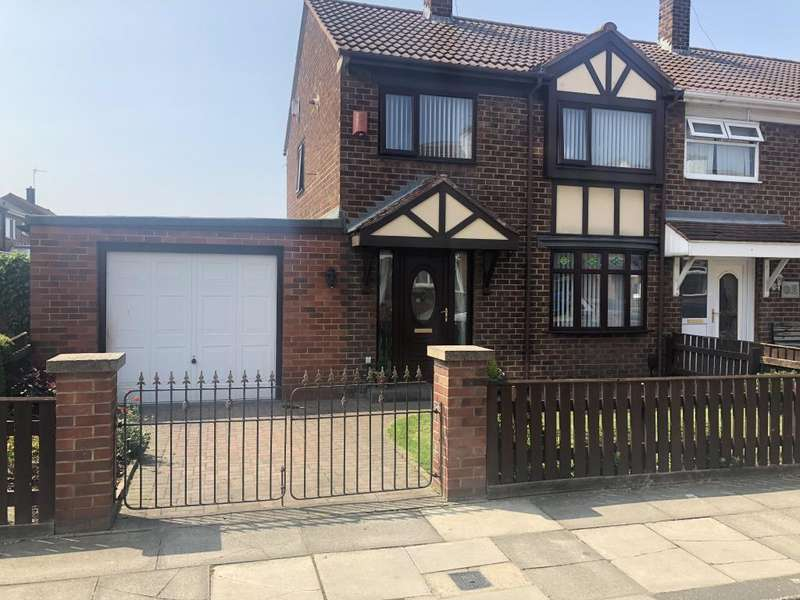2 Bedrooms Semi Detached House for sale in Arundel Road, Grangetown, Middlesbrough, TS6