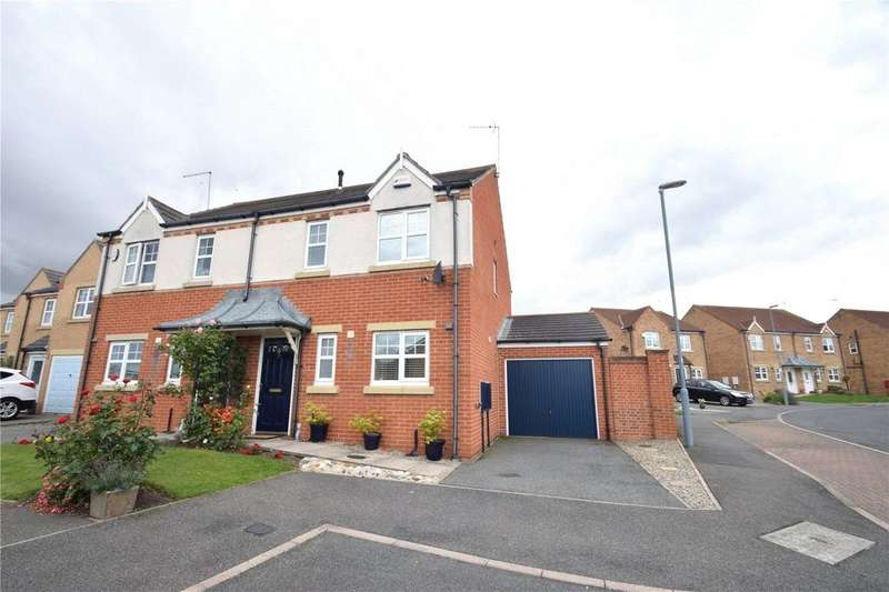 3 Bedrooms Semi Detached House for sale in Stoneycroft Way, East Shore Village, Seaham, Co Durham, SR7