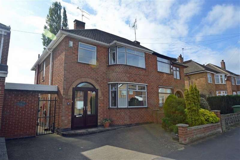3 Bedrooms Semi Detached House for sale in Pulford Drive, Scraptoft