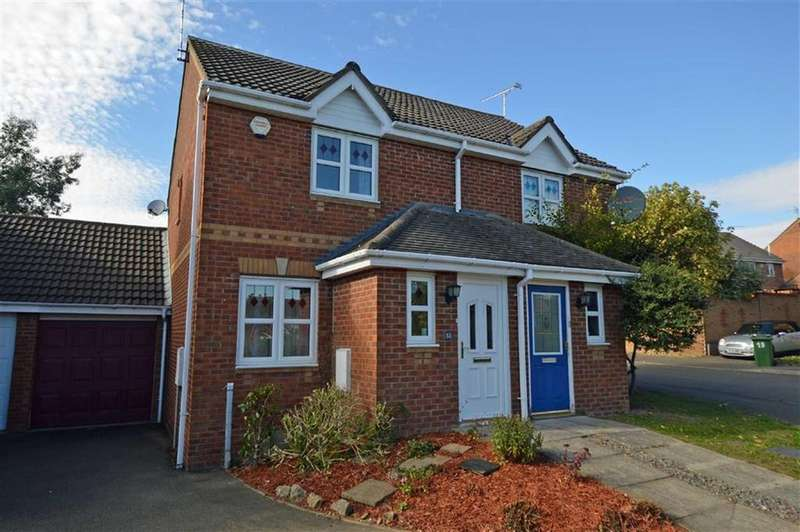 2 Bedrooms Semi Detached House for sale in Impey Close, Thorpe Astley