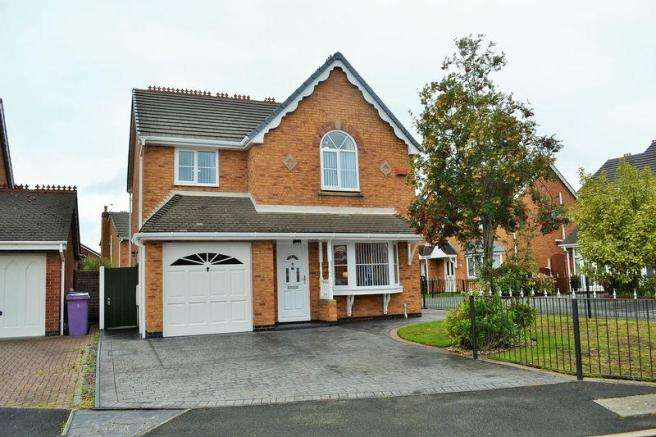 4 Bedrooms Detached House for sale in Trotwood Close, Aintree