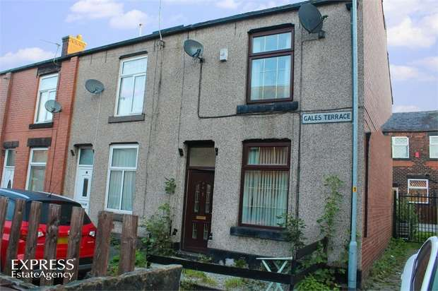 2 Bedrooms End Of Terrace House for sale in Gales Terrace, Rochdale, Lancashire