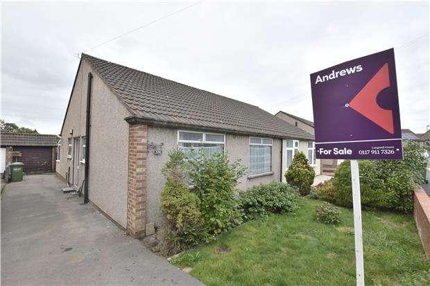 2 Bedrooms Semi Detached Bungalow for sale in Cherington, Hanham, BS15 3AG