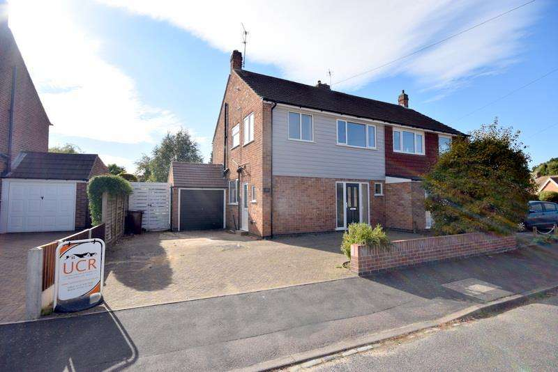 3 Bedrooms Semi Detached House for sale in Linford Road, Loughborough