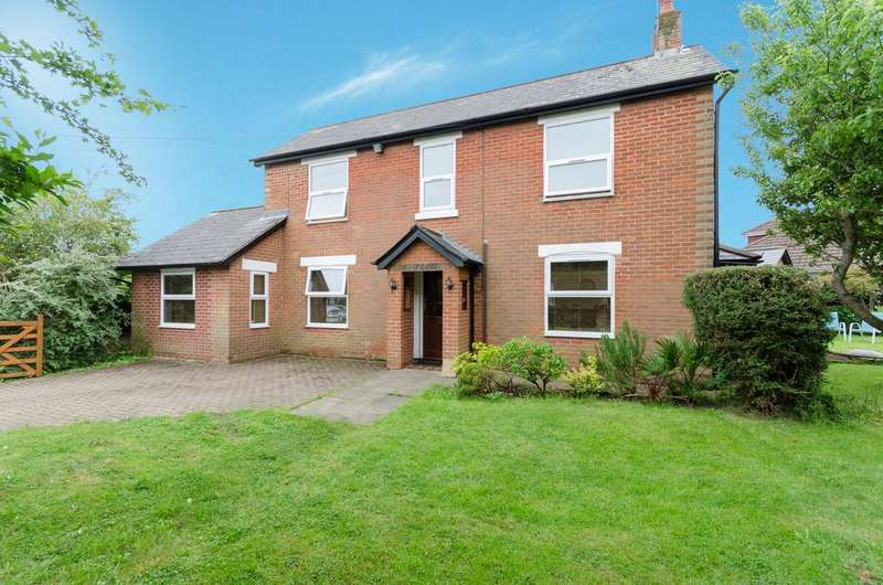 4 Bedrooms Detached House for sale in Freegrounds Road, Hedge End