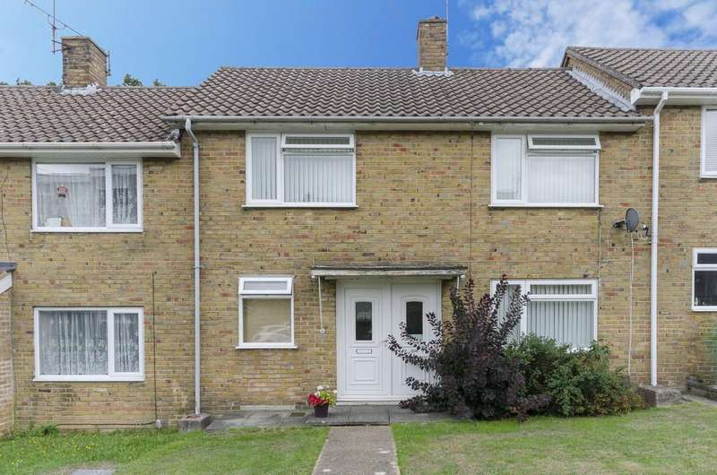 3 Bedrooms Terraced House for sale in Meggeson Avenue, Townhill Park