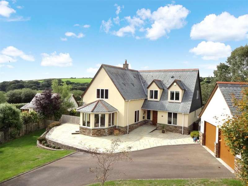 4 Bedrooms Detached House for sale in Bowood Park, Camelford