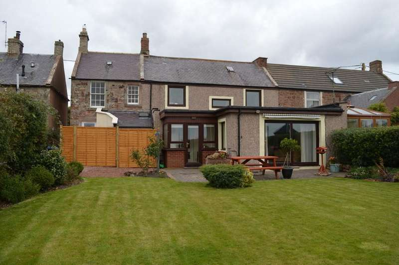 3 Bedrooms Terraced House for sale in East End, Main Street, Chirnside, Duns, Berwickshire