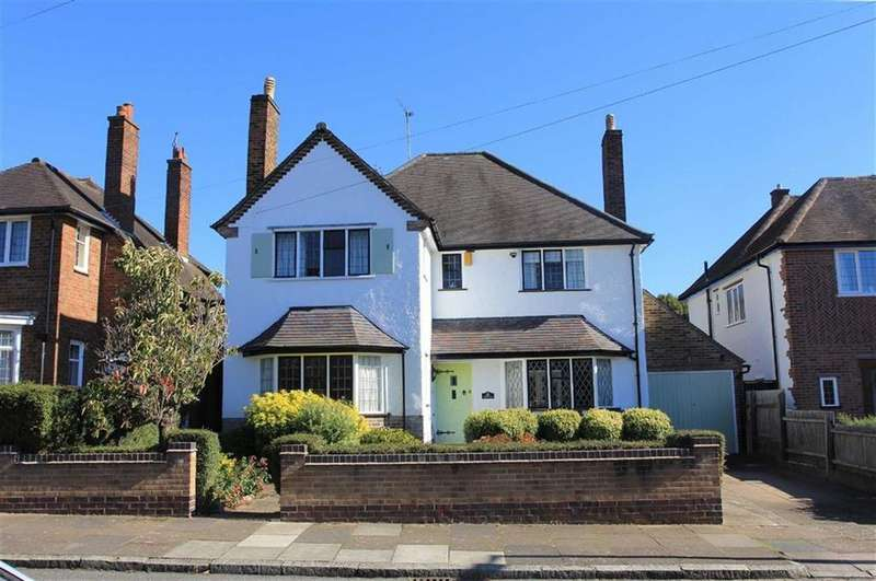 4 Bedrooms Detached House for sale in Shirley Avenue, South Knighton, Leicester