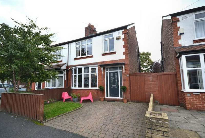 4 Bedrooms Semi Detached House for sale in Homestead Crescent, Burnage