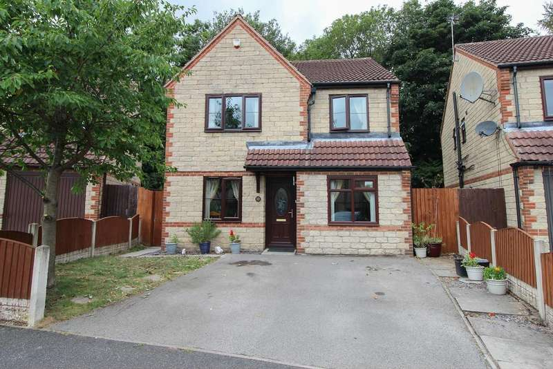 4 Bedrooms Detached House for sale in Bramley Close, Inkersall