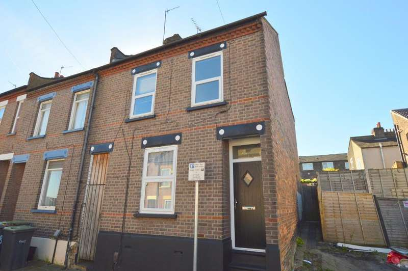 4 Bedrooms End Of Terrace House for sale in Baker Street, South Luton, Luton, LU1 3PY