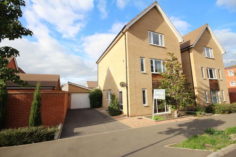 4 Bedrooms Detached House for sale in Lysander Drive, Bracknell