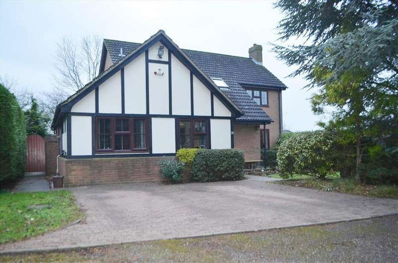 4 Bedrooms Detached House for sale in Barnwell Rise , Bury Hil