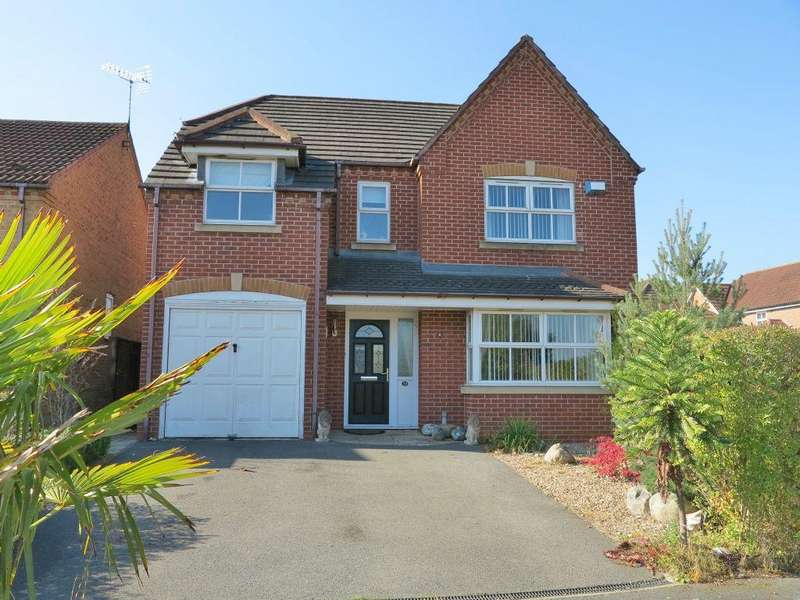 4 Bedrooms Detached House for sale in Kirkley Drive , Heanor , Derbys , DE75 7UR