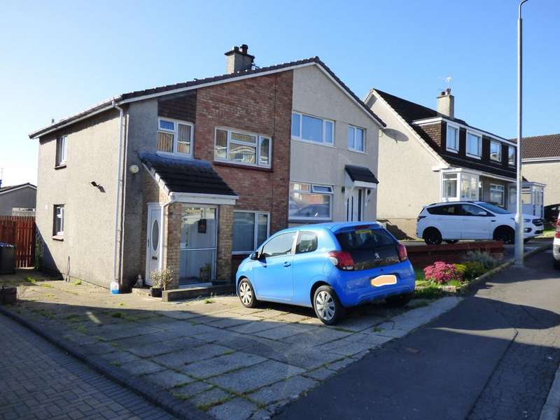 3 Bedrooms Semi Detached House for sale in 118 Mirren Drive, Duntocher, G81 6LD