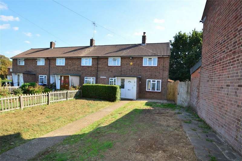 3 Bedrooms End Of Terrace House for sale in Branch Close, HATFIELD, Hertfordshire