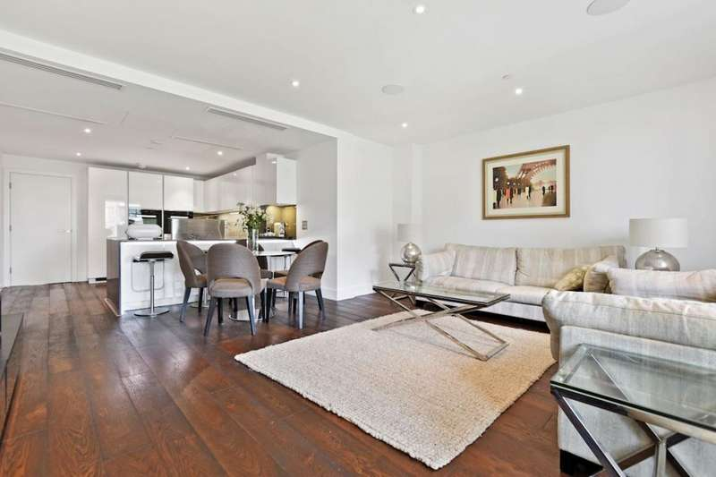 4 Bedrooms Flat for sale in Ravensbourne Apartments, Central Avenue, Fulham, SW6