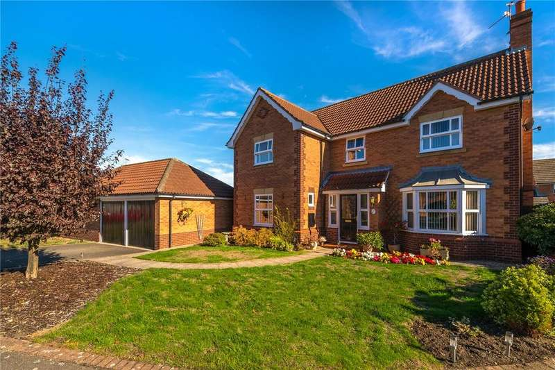 4 Bedrooms Detached House for sale in Wordsworth Court, Sleaford, Lincolnshire, NG34