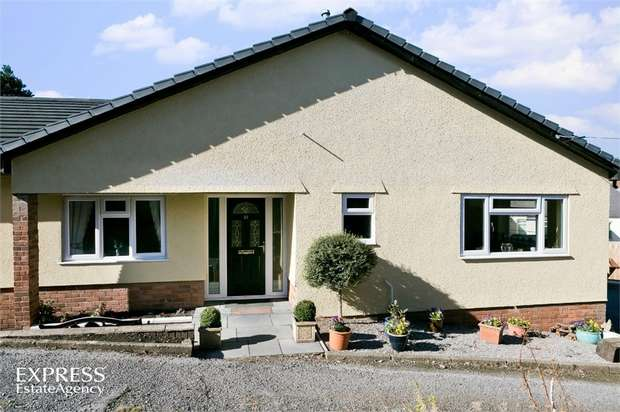 4 Bedrooms Detached Bungalow for sale in Union Road West, Abergavenny, Monmouthshire