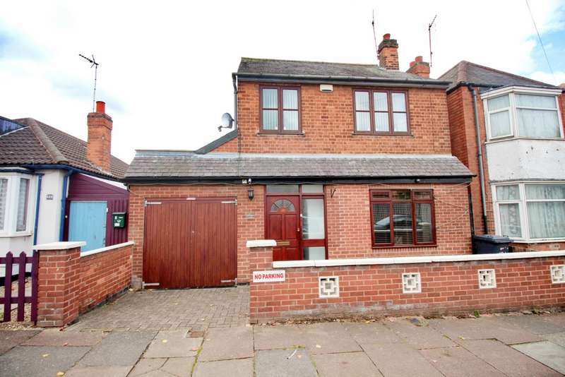 4 Bedrooms Detached House for sale in Fairfax Road, Leicester, LE4