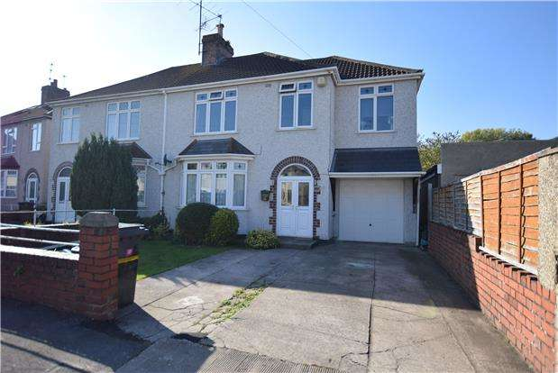 5 Bedrooms Semi Detached House for sale in Edna Avenue, BRISTOL, BS4 4LA