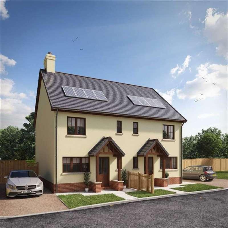3 Bedrooms Semi Detached House for sale in Mill Bay Development, Cilgerran, Pembrokeshire