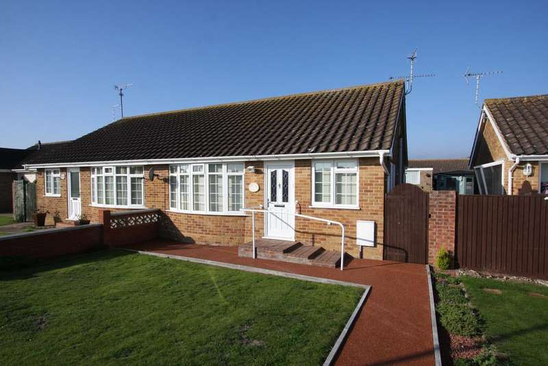2 Bedrooms Semi Detached Bungalow for sale in Priory Road, Eastbourne BN23