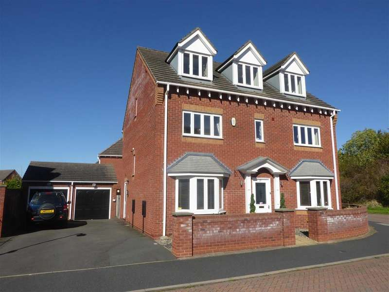 5 Bedrooms Detached House for sale in Dulwich Grange, Bratton, Telford