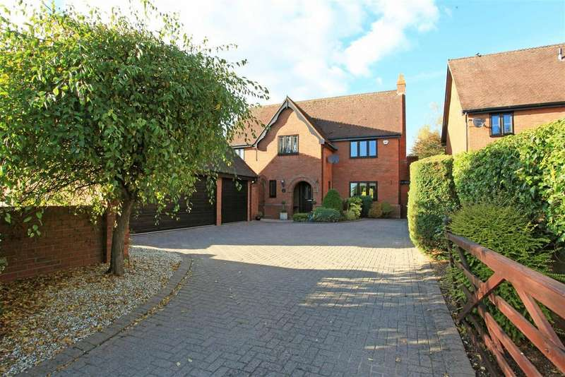 4 Bedrooms Detached House for sale in Rectory Drive, Weston-Under-Lizard, Shifnal