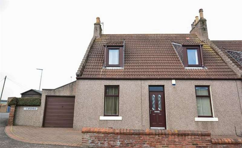 3 Bedrooms Cottage House for sale in Braehead, Approach Row, EAST WEMYSS, Fife