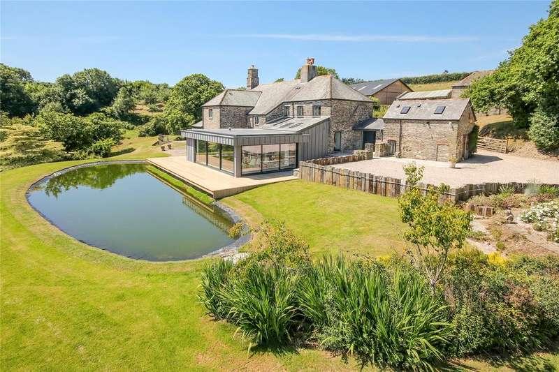 4 Bedrooms Detached House for sale in Diptford, Totnes, TQ9