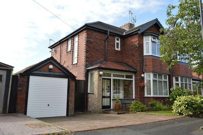 3 Bedrooms Semi Detached House for sale in Meadow Lane, Garden Suburb, Oldham, OL8 3AQ