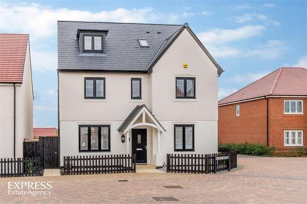 5 Bedrooms Detached House for sale in Alder Wynd, Silsoe, Bedford