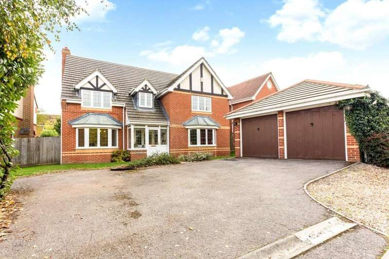 5 Bedrooms Detached House for sale in Crabtree Way, Old Basing, Basingstoke, RG24