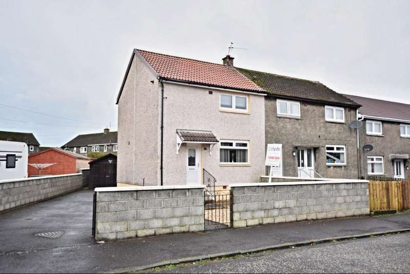 2 Bedrooms End Of Terrace House for sale in Peden Drive , Auchinleck, East Ayrshire , KA18 2EQ