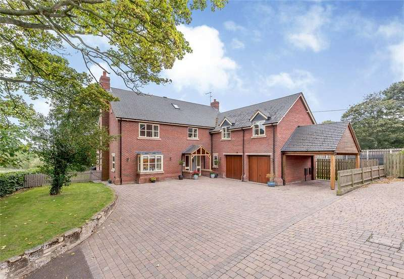 6 Bedrooms Detached House for sale in Wem Road, Clive, Shrewsbury