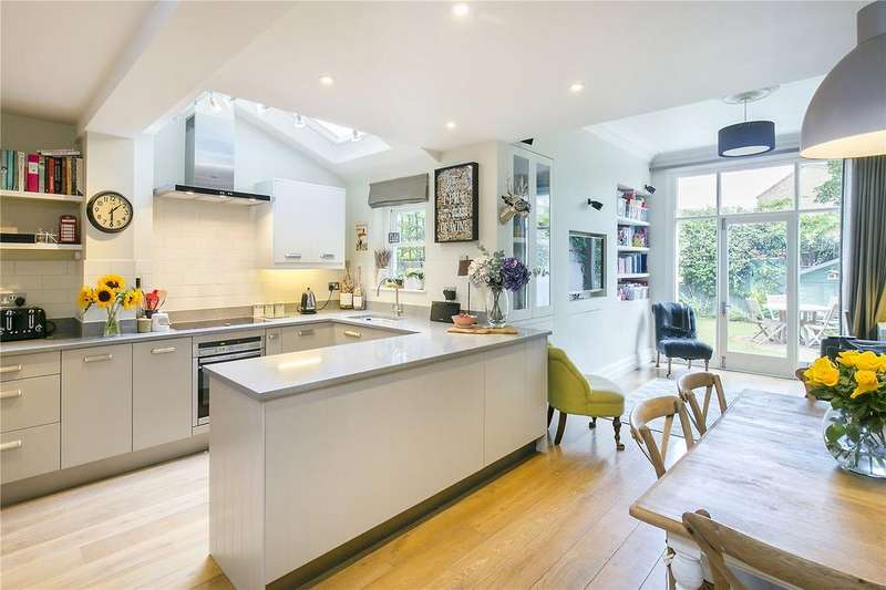 5 Bedrooms Terraced House for sale in Rowfant Road, Wandsworth, London, SW17
