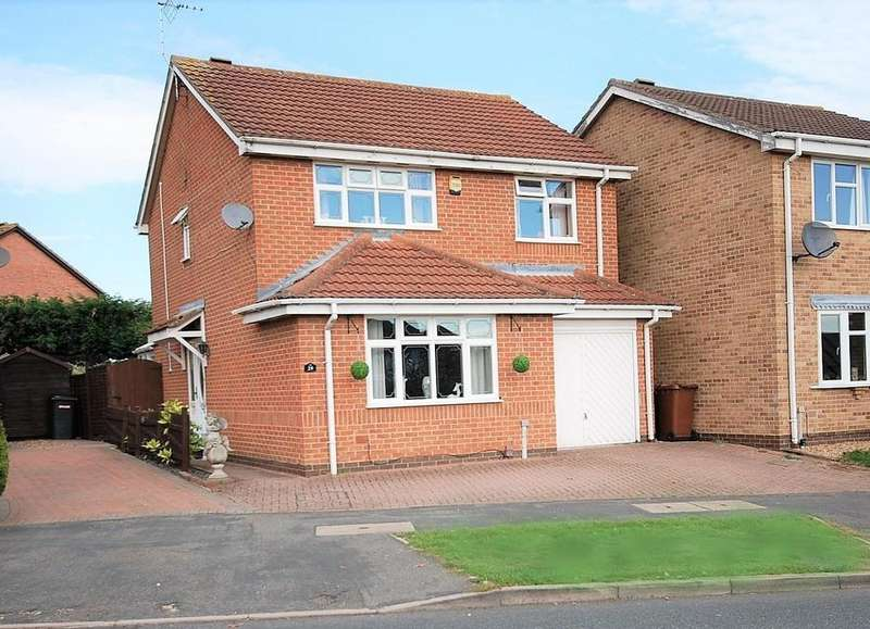 4 Bedrooms Detached House for sale in Wymondham Way, Melton Mowbray
