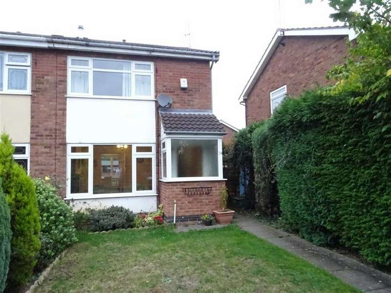 2 Bedrooms Semi Detached House for sale in Glenbarr Drive, Hinckley