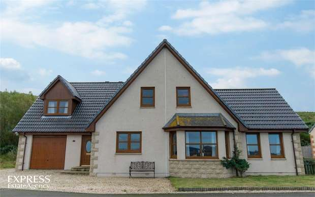 5 Bedrooms Detached House for sale in Earls View, Portgordon, Buckie, Moray