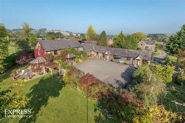 5 Bedrooms Detached House for sale in Long Lane, Craven Arms, Shropshire