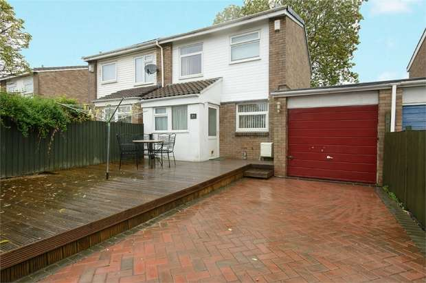 3 Bedrooms Semi Detached House for sale in Larch Way, Patchway, Bristol, Gloucestershire