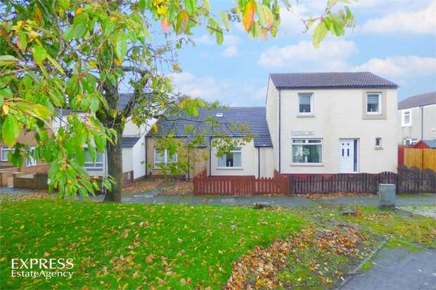 1 Bedroom Terraced House for sale in Fencedyke Way, Bourtreehill North, Irvine, North Ayrshire
