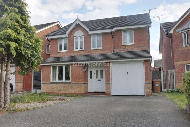 4 Bedrooms Detached House for sale in James Atkinson Way, Leighton